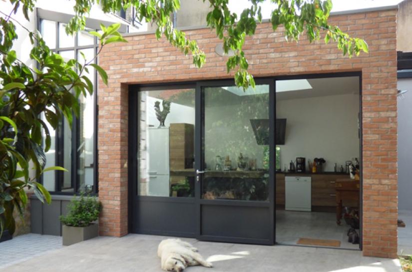 Extension sur terrasse
