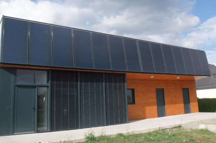 Maison solaire thermique
