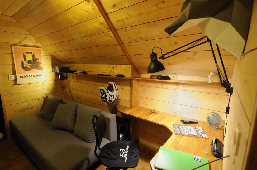 ARCHALliances Rodolphe Bonnet Architecte. Petit espace de 6m² transformé en bureau ados.