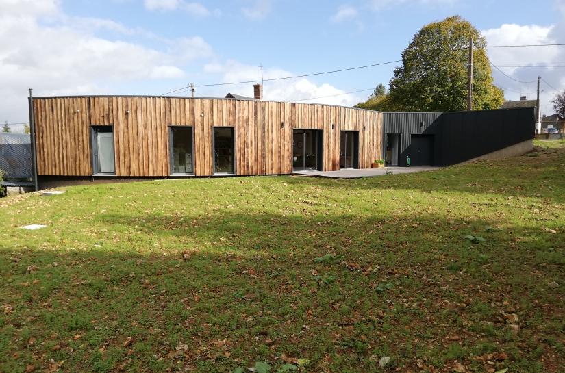 Maison paille, architecture passive