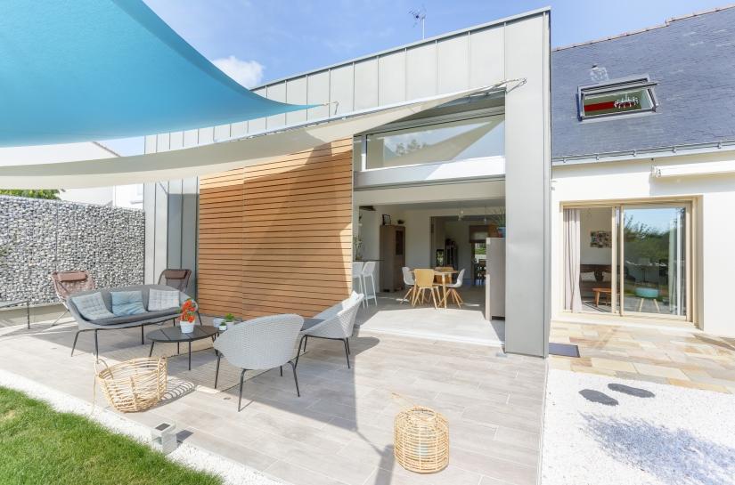 Terrasse et zinc