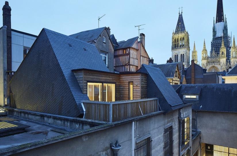 Surélévation d'une maison à Rouen (76)