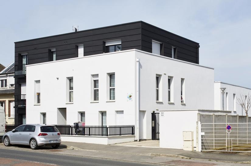 Construction de 18 Logements collectifs à Amiens (80)