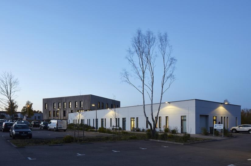 Seine Ecopolis, Pépinière et hôtel d'entreprises à Saint-Etienne-du-Rouvray (76)