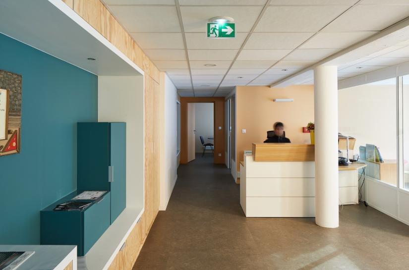 Réhabilitation d'un atelier en bureaux à Canteleu - Bapeaume (76)