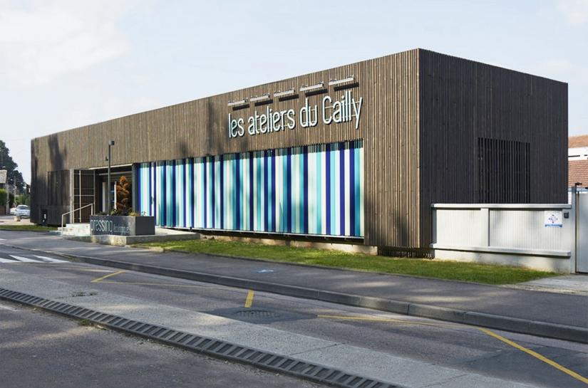 Habillage de la façade d'un commerce à Canteleu - Bapeaume (76)
