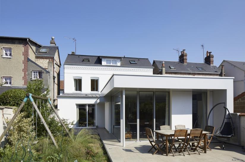 Extension d'une maison individuelle à Sotteville-Lès-Rouen (76)