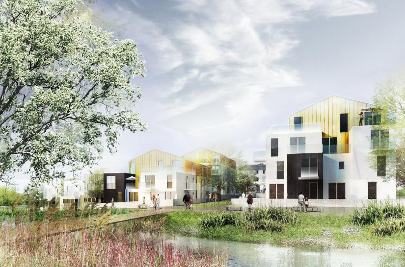 DX ARCHITECTURES, Pierre Degageux, Logements collectifs, urbanisme, BBC
