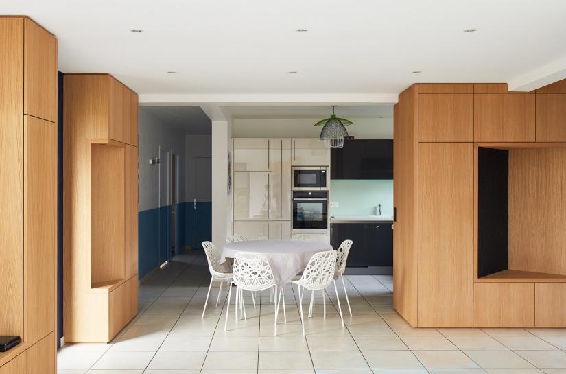 Réaménagement et conception du mobilier - Le Vaudreuil (27)