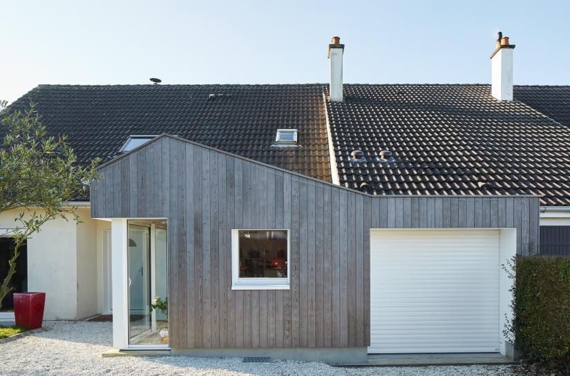 Extension d'une maison individuelle - Bihorel (76)