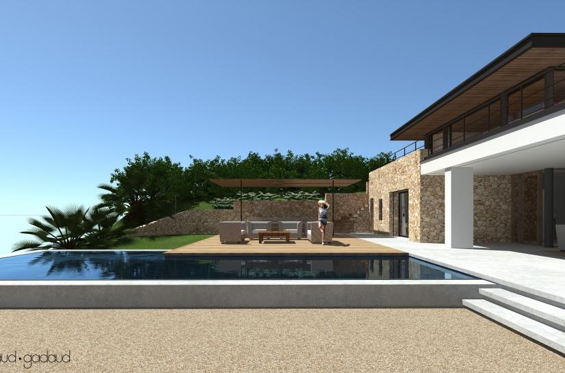 Villa contemporaine Biot
