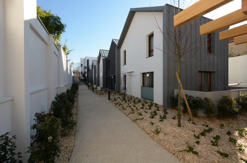 25 appartements collectifs et 8 maisons individuelles Saint-Denis Cogedim