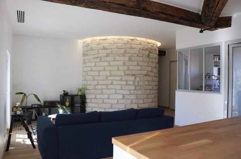Rénovation d'un appartement à Montpellier par Cèlia ArgilésBaró