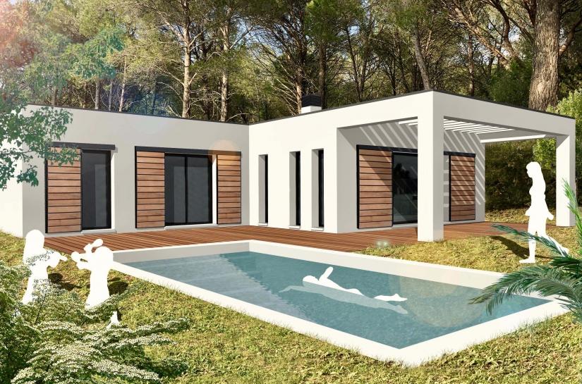 Création d'une villa contemporaine