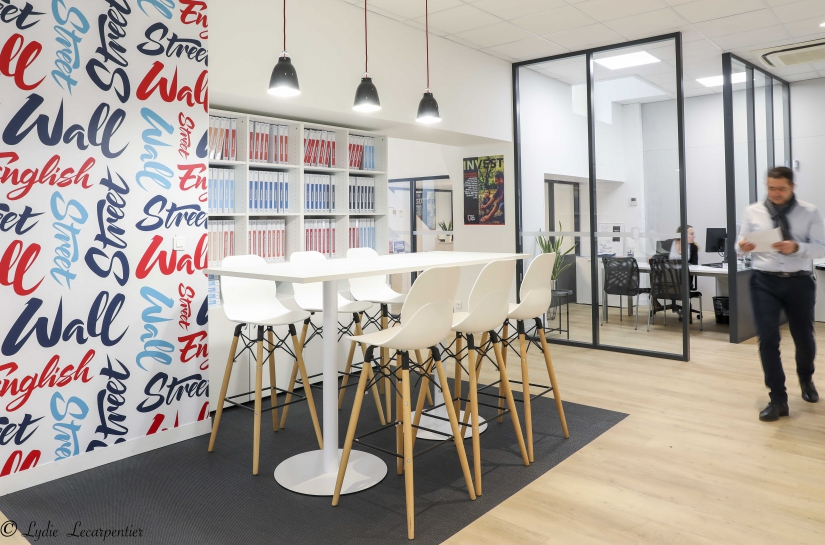 Wall Street English Toulouse - Cécile Cormary Architecte DPLG