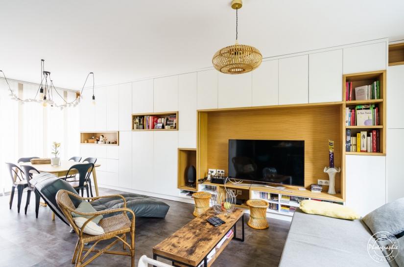 JRA Justine Reverchon Architecte - Aménagement 16P - mobilier - maison