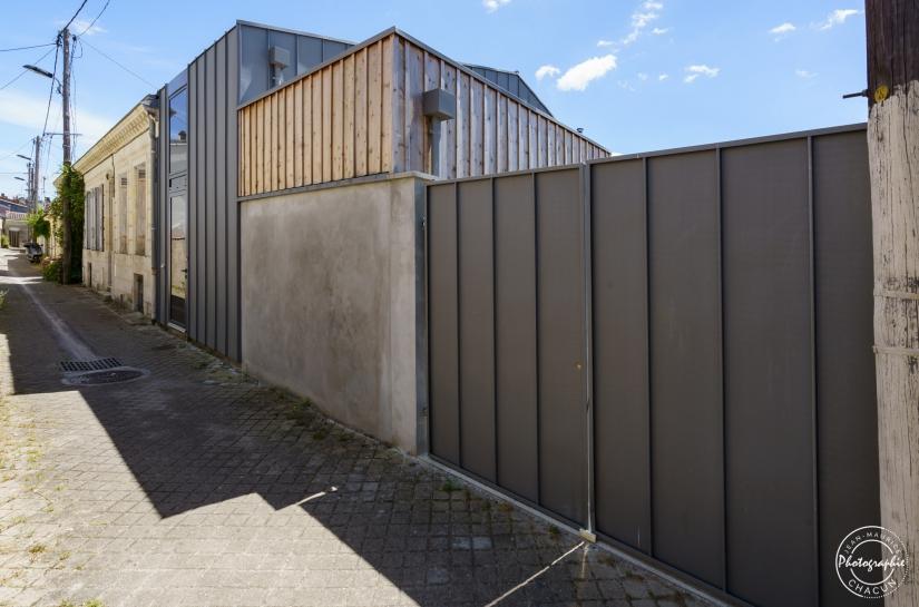 JRA Justine Reverchon Architecte - Maison B76 - intégration rue (réhabilitation et extension /surélévation d'une maison de ville pierre / zinc)