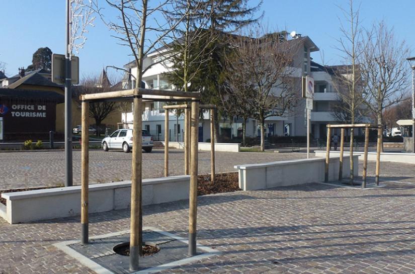 Centre-ville de Challes-Les-Eaux