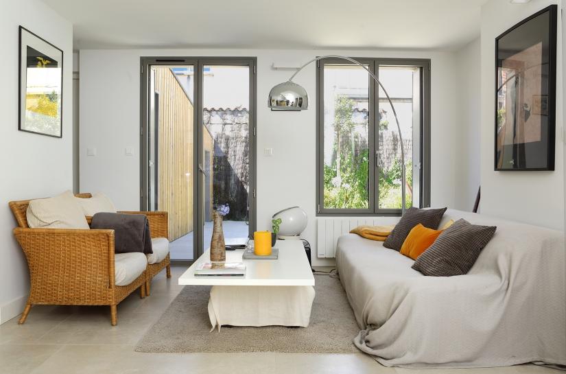 réhabilitation d'une maison de ville à Bordeaux