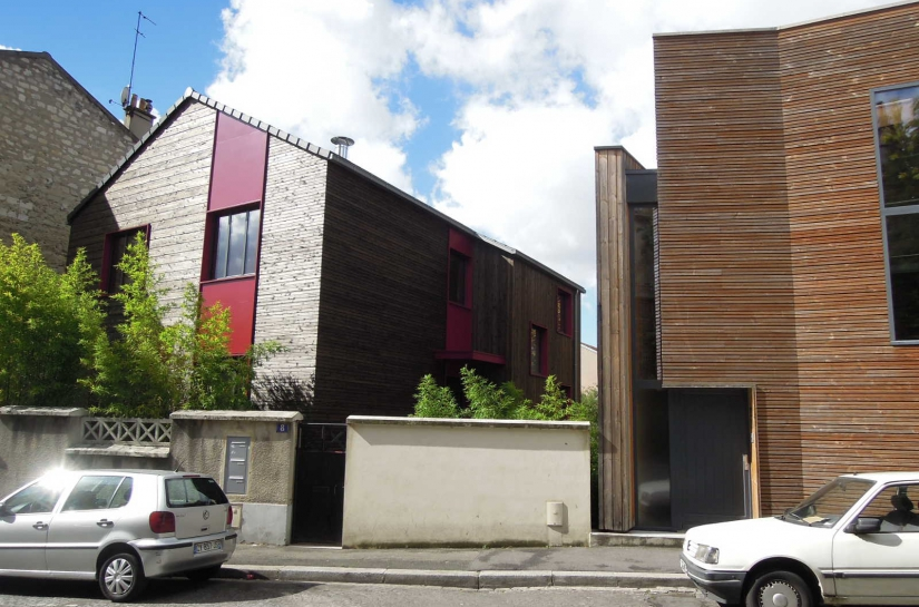 ETAT PROJETE: façade rue