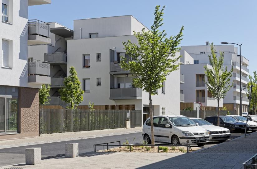 Les ilots verts - renouvellement urbain
