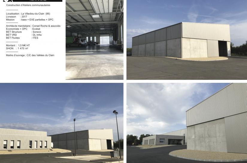 Ateliers communautaires de La-Villedieu-du-Clain