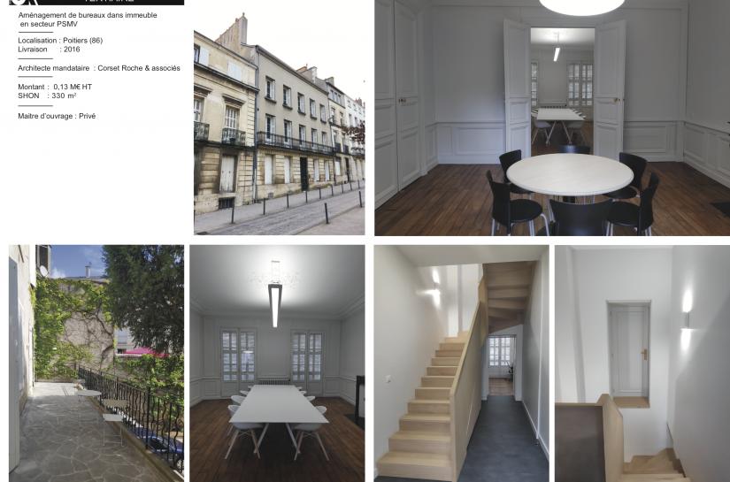 Bureaux à Poitiers