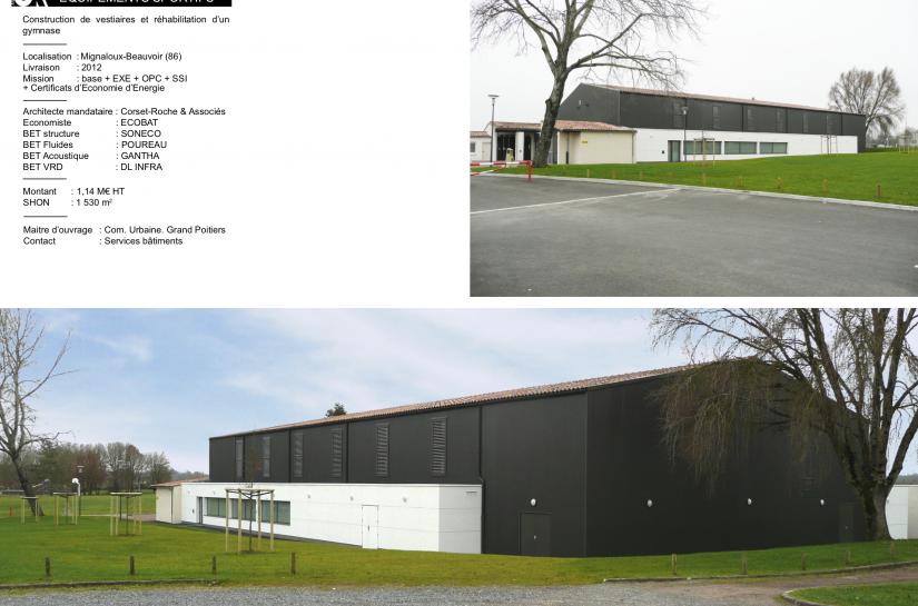 Gymnase de Mignaloux-Beauvoir