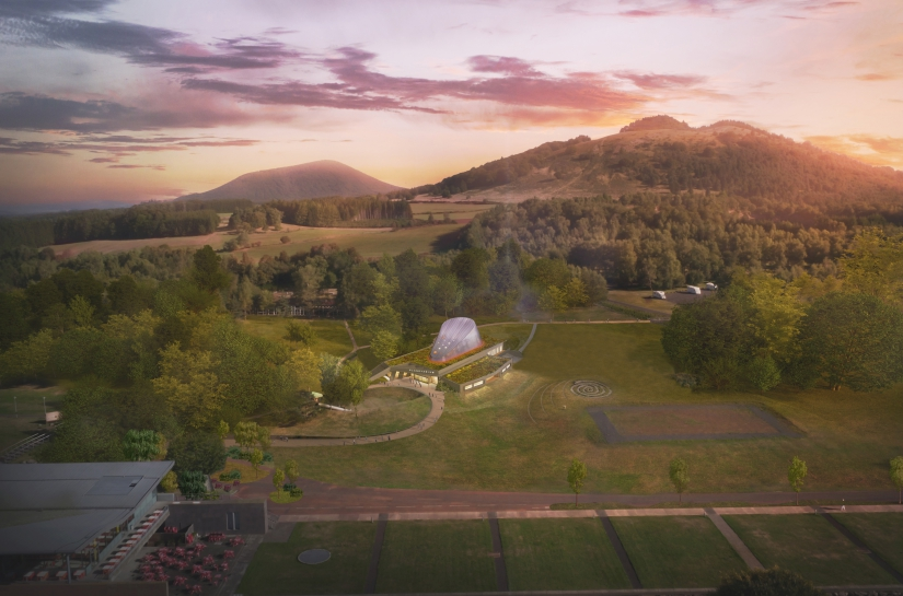 Réalisation Attraction Planetarium Vulcania - St Ours Les Roches (63)