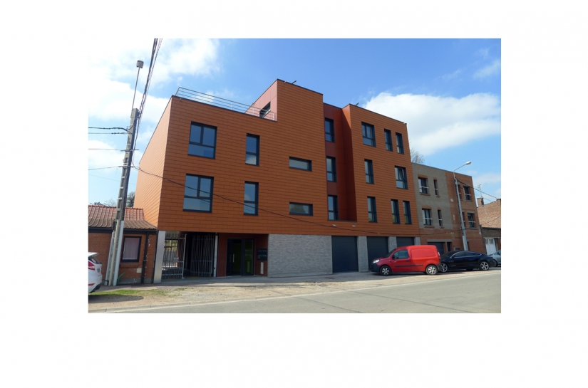 Construction d'un immeuble de 7 logements passifs
