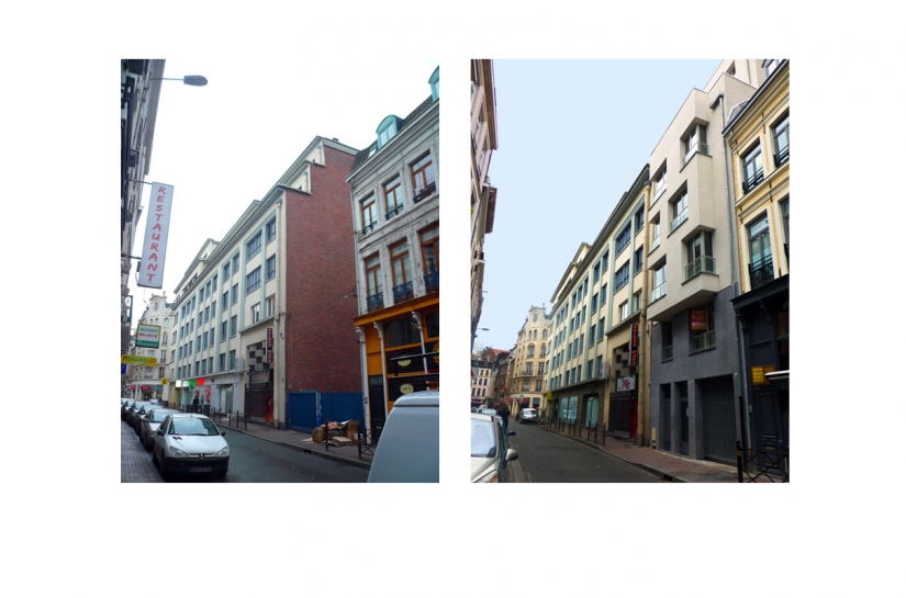 Projet de 6 logements collectifs - Vues avant et après travaux