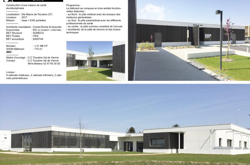 Maison de santé de Ste Maure de Touraine