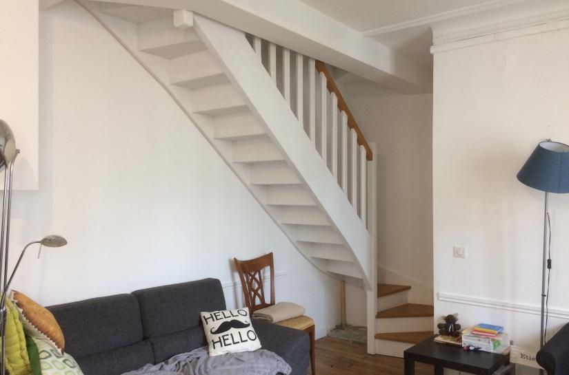 Création d'un duplex - ouverture de trémie, pose d'un escalier