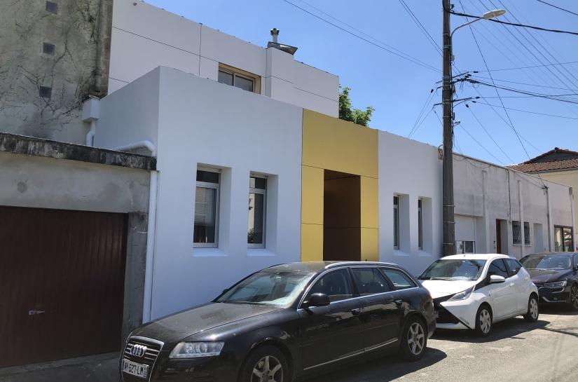 JRA Justine reverchon Architecte - Maison G - réhabilitation des façades d'une maison BLANCDORE