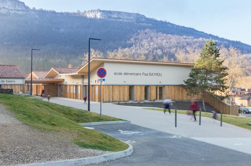 École élémentaire Saint-Antonin-Noble-Val - Extérieur