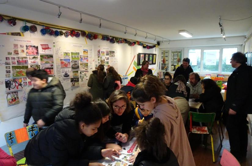 Démarche participative en salle