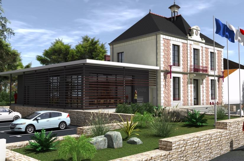 Mairie Villeneuve-en-Retz - Sandra Troffigué Architecte