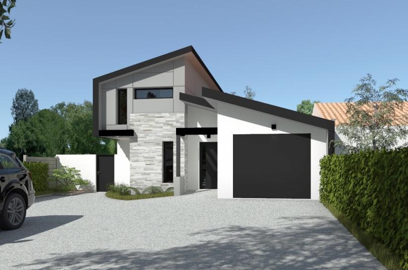 Maison T La Plaine - Sandra Troffigué Architecte