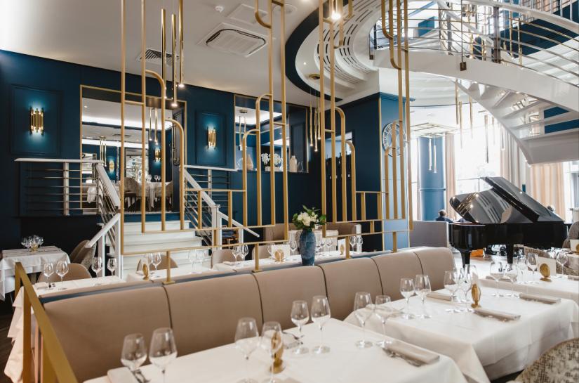 Restaurant Marius - Sandra Troffigué Architecte