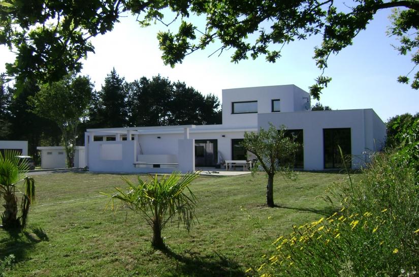 Villa BT La Baule - Sandra Troffigué Architecte