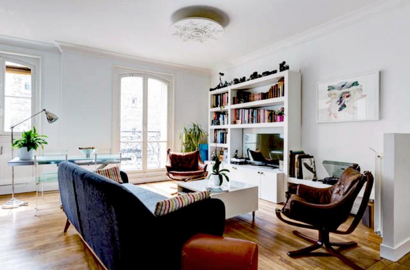 Appartement Lamarck, Paris  - Crédit photo : Ring Studio Architecture - DR