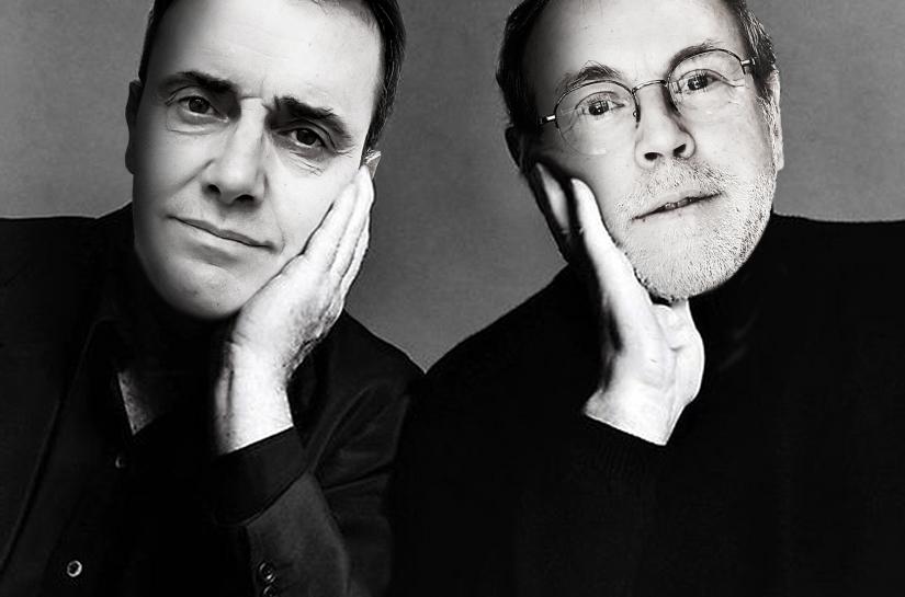 Frédéric Bret et Jean-Luc Trividic