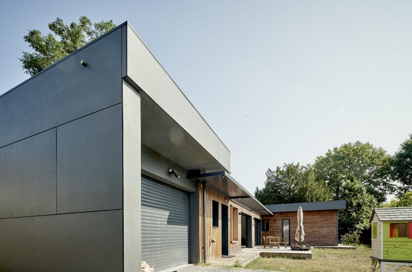 Création Maison Ossature Bois FP33, Pessac 33 - Nouvelle Aquitaine