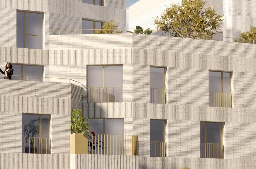 27 logements collectifs et commerce - Villejuif