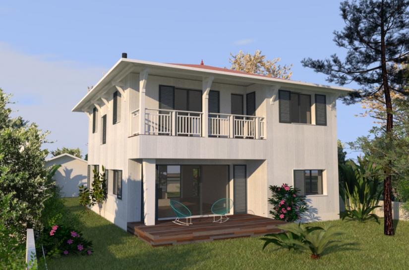 Transformation d'une maison des années 70 pour créer une maison passive et biosourcée.
