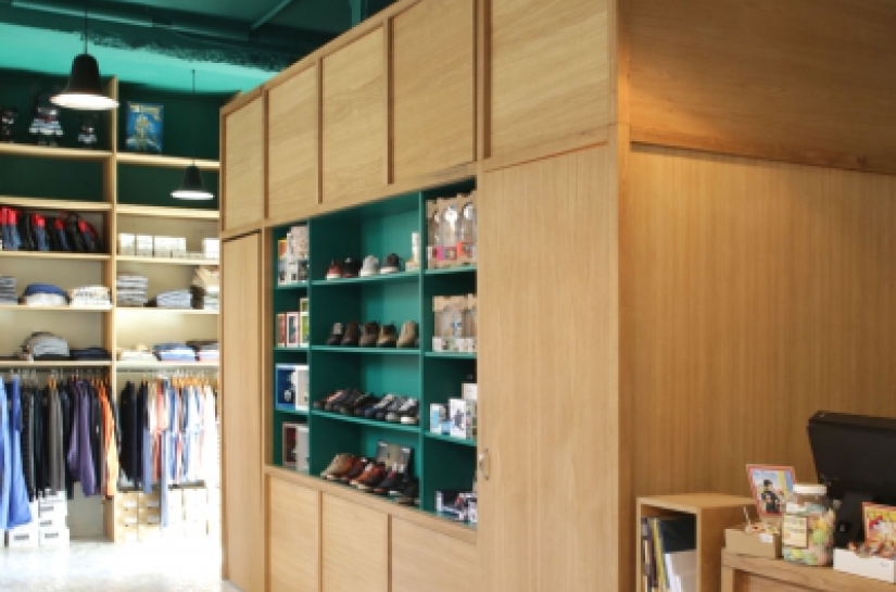 Réaménagement du magasin Goddvibes