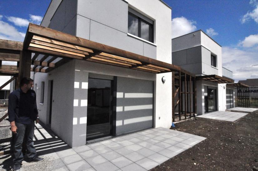 19 maisons en  ossature bois