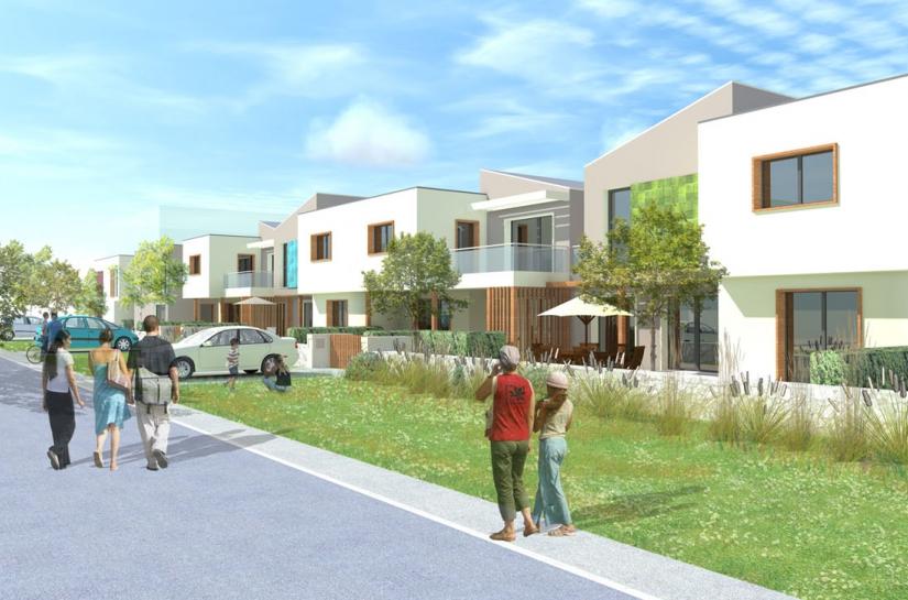 19 logements groupés en habitat participatif