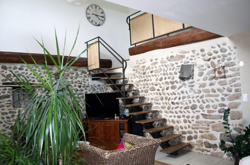 Salon - Maison Hot - Adhoc Architecture - Jean Michel Costaz
