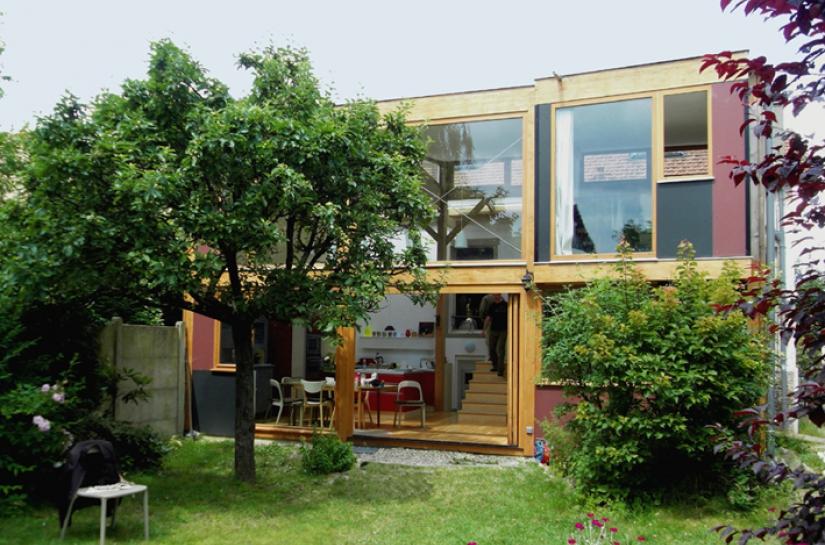 Extension-rénovation à Pavillons-sous-bois